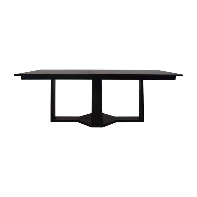 Custom Dining Table in European Walnut Veneer for sale