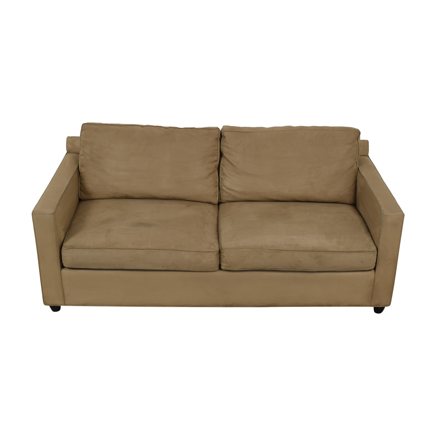 Crate & Barrel Beige Sofa Crate & Barrel