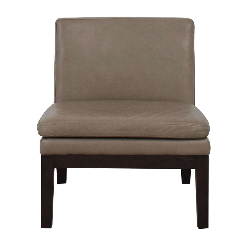 shop West Elm Slipper Chair West Elm Chairs