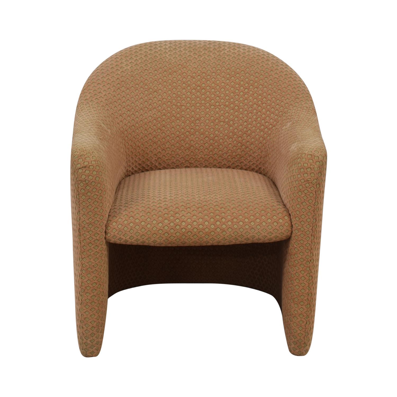 Gunlocke Company Gunlocke Company Beige Accent Chair for sale