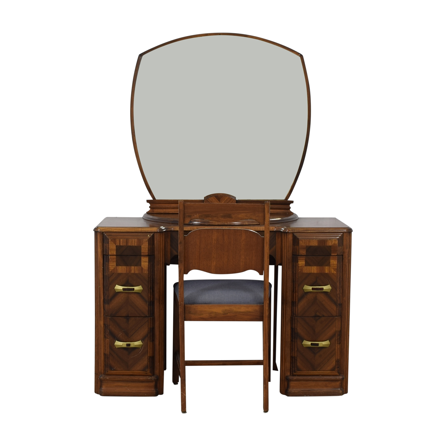 buy Vintage Vanity with Chair
