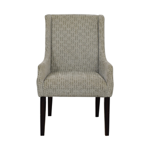 Grey Upholstered Accent Chair price