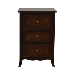 Three-Drawer End Table