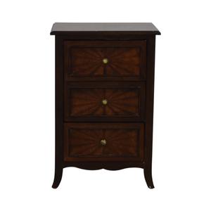 shop Three-Drawer End Table