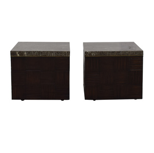 Brown Low End Tables second hand