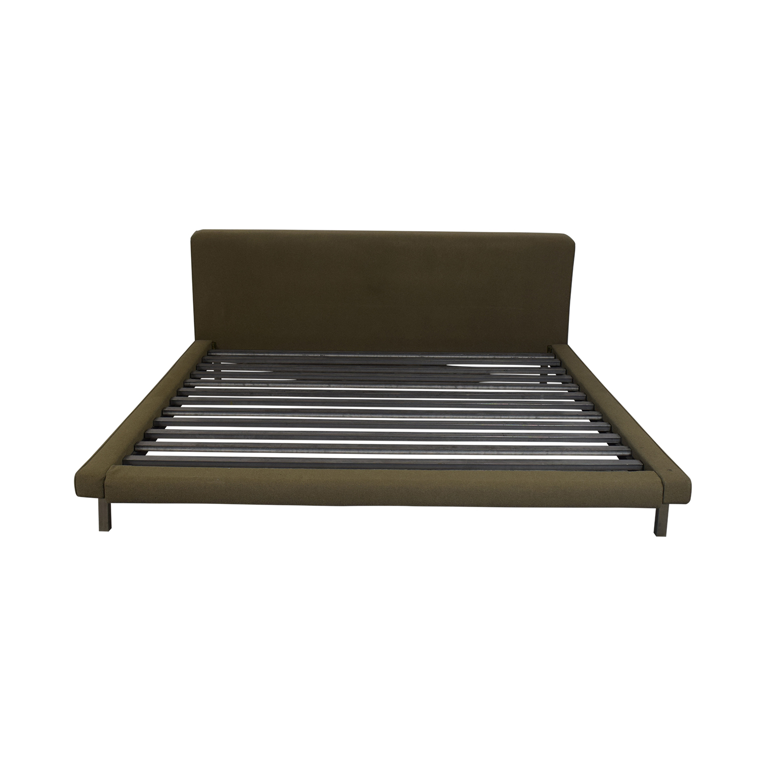 Room & Board Room & Board Upholstered Platform King Bed nj