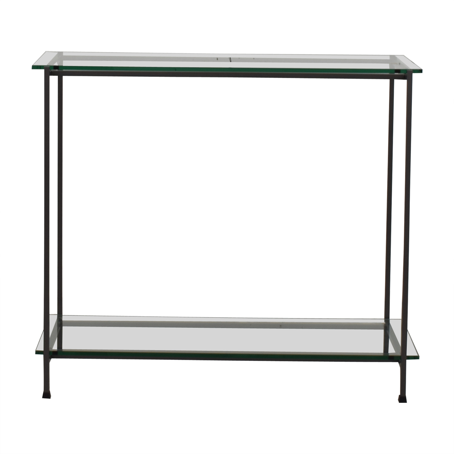 Crate & Barrel Crate & Barrel Glass Console coupon