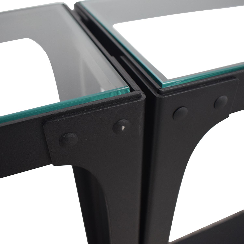 shop Crate & Barrel Console Tables Crate & Barrel Accent Tables