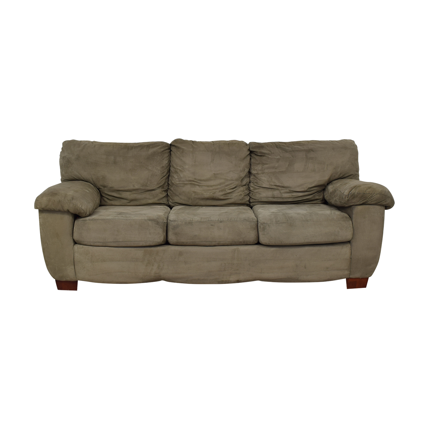 Grey Three Cushion Sofa Sofas