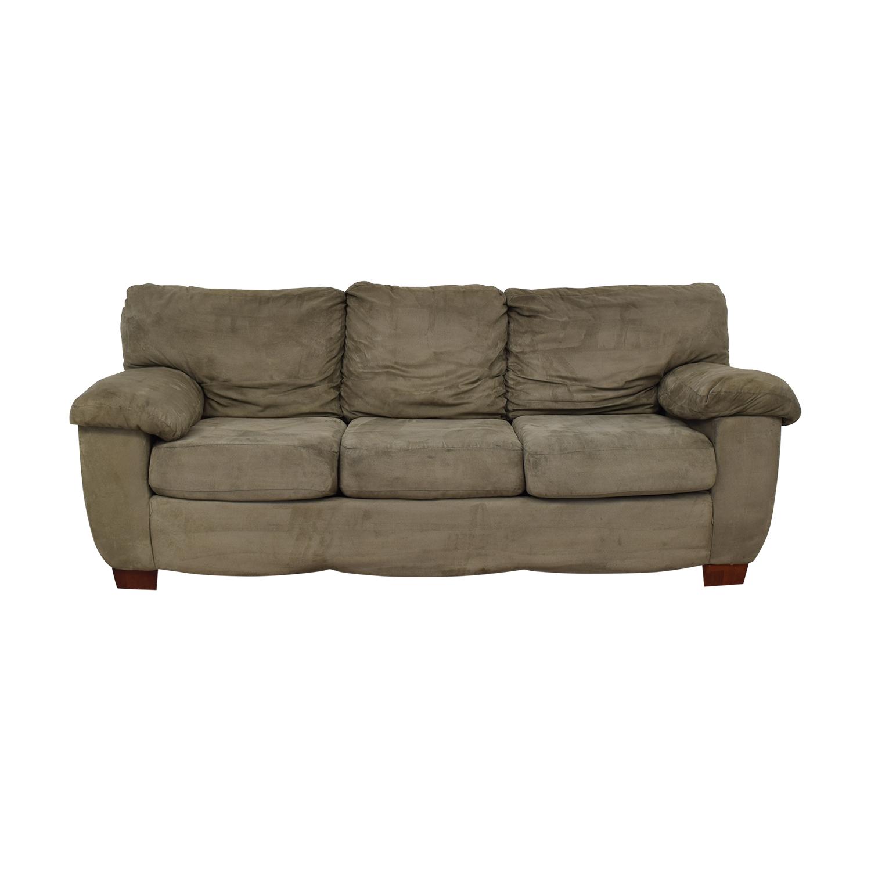Grey Three Cushion Sofa sale