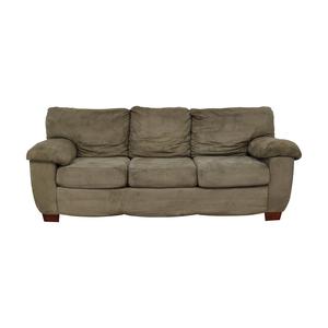 buy  Grey Three Cushion Sofa online