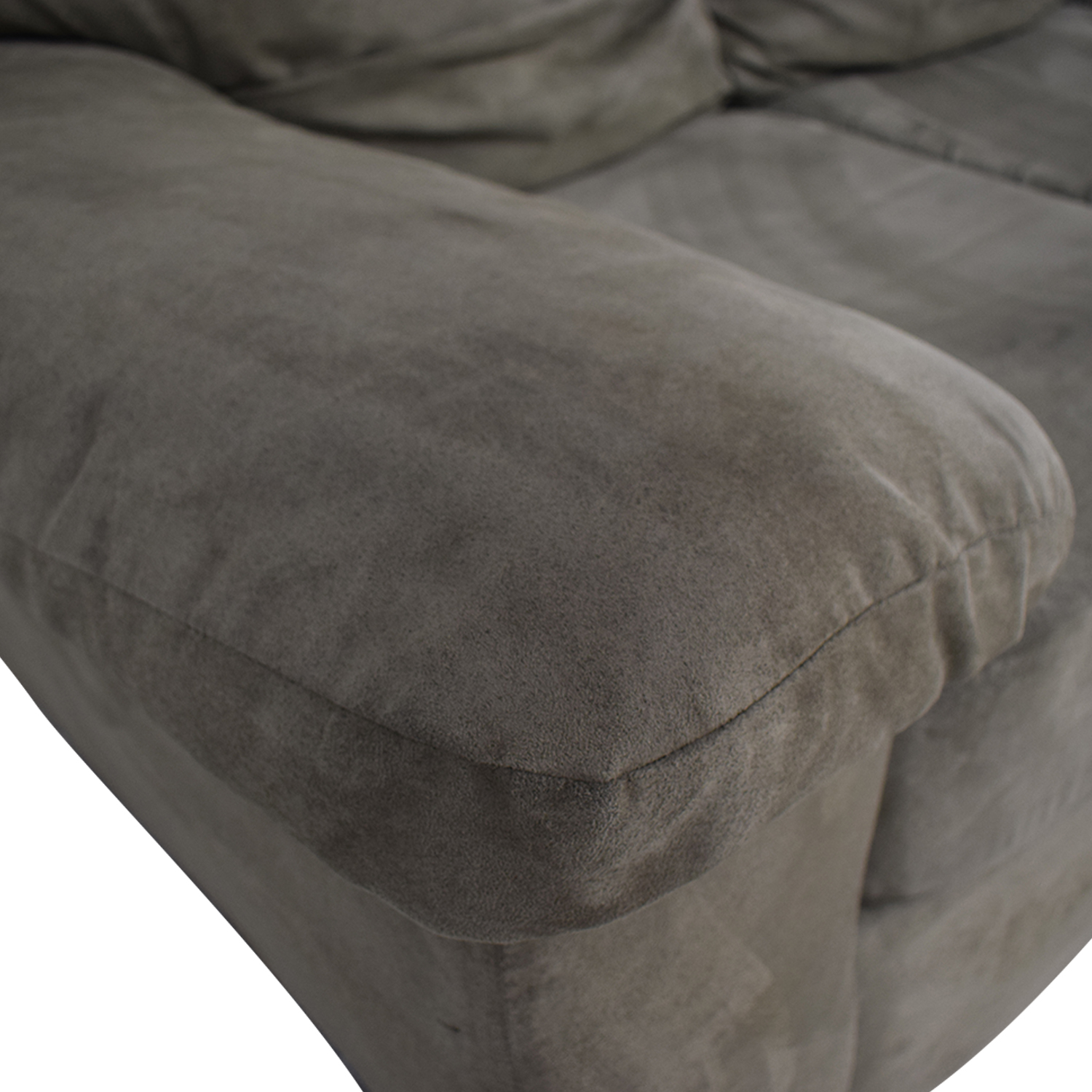 buy  Grey Three Cushion Sofa online