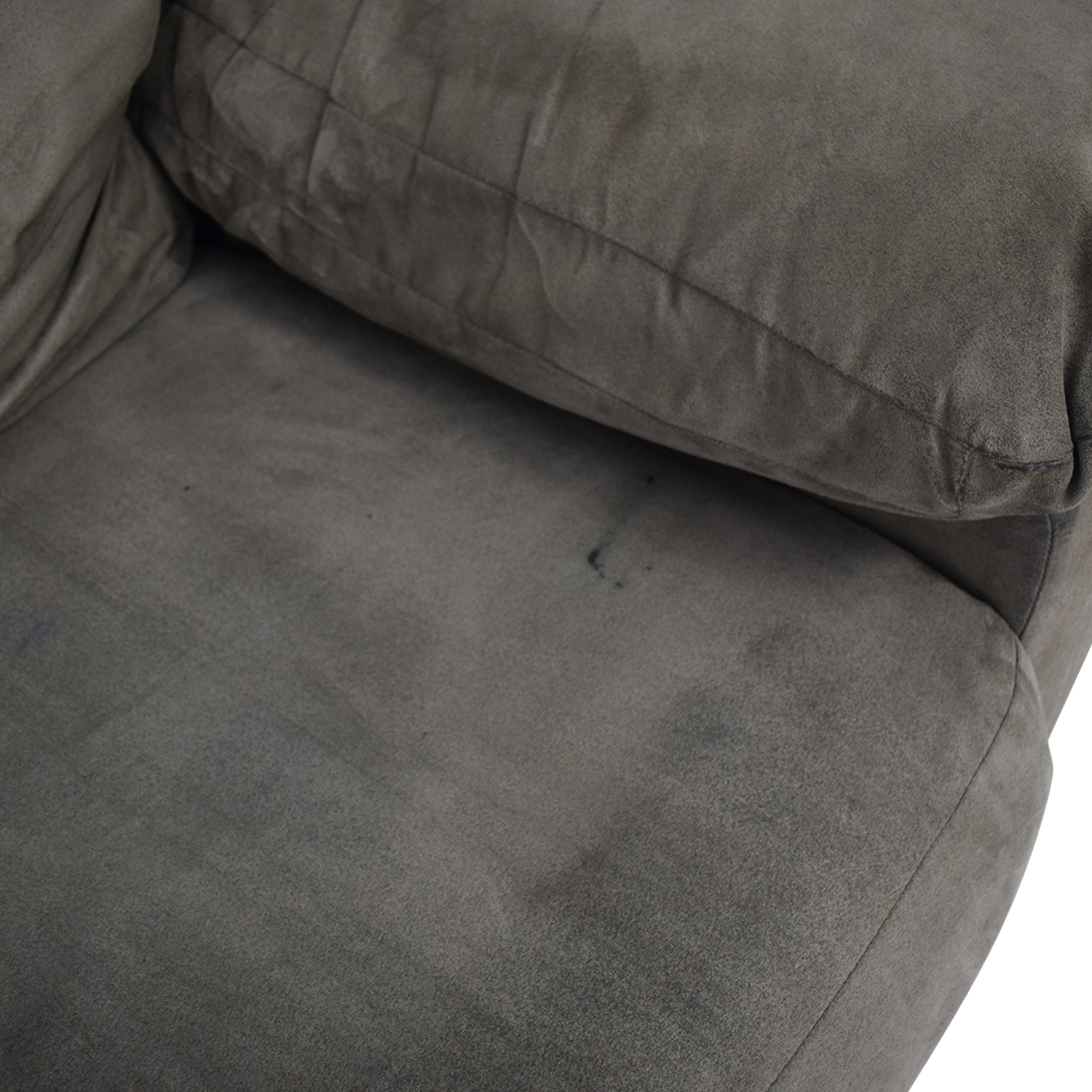 Grey Three Cushion Sofa used