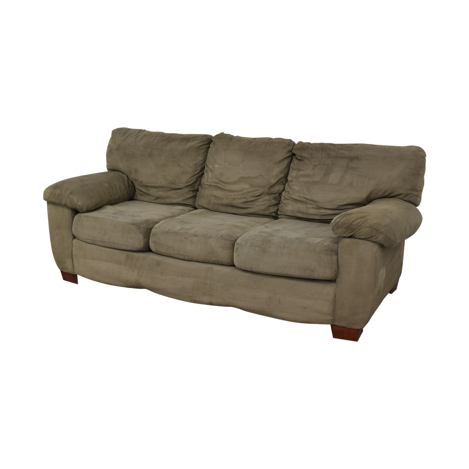 Grey Three Cushion Sofa / Sofas