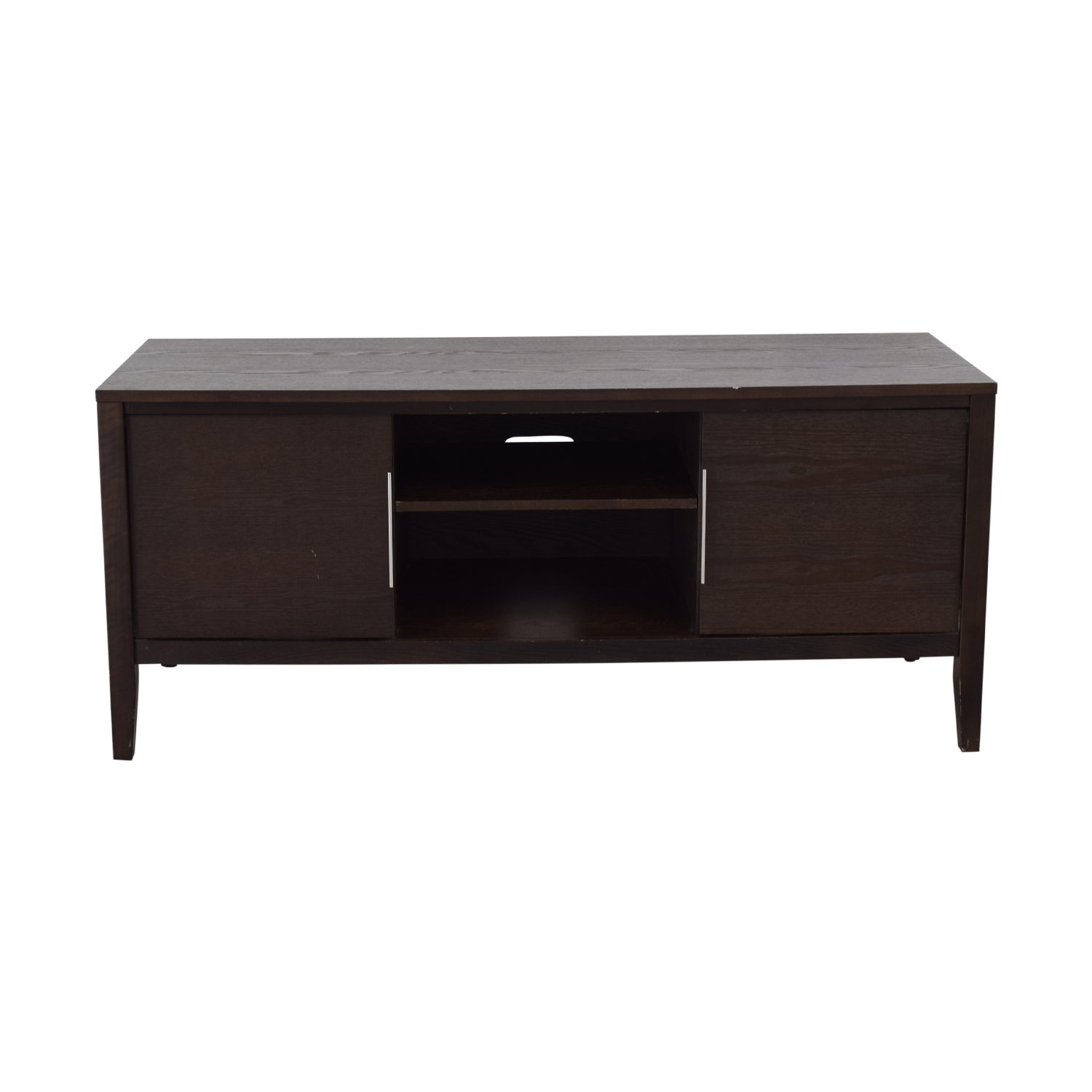 Media TV Stand with Shelves second hand