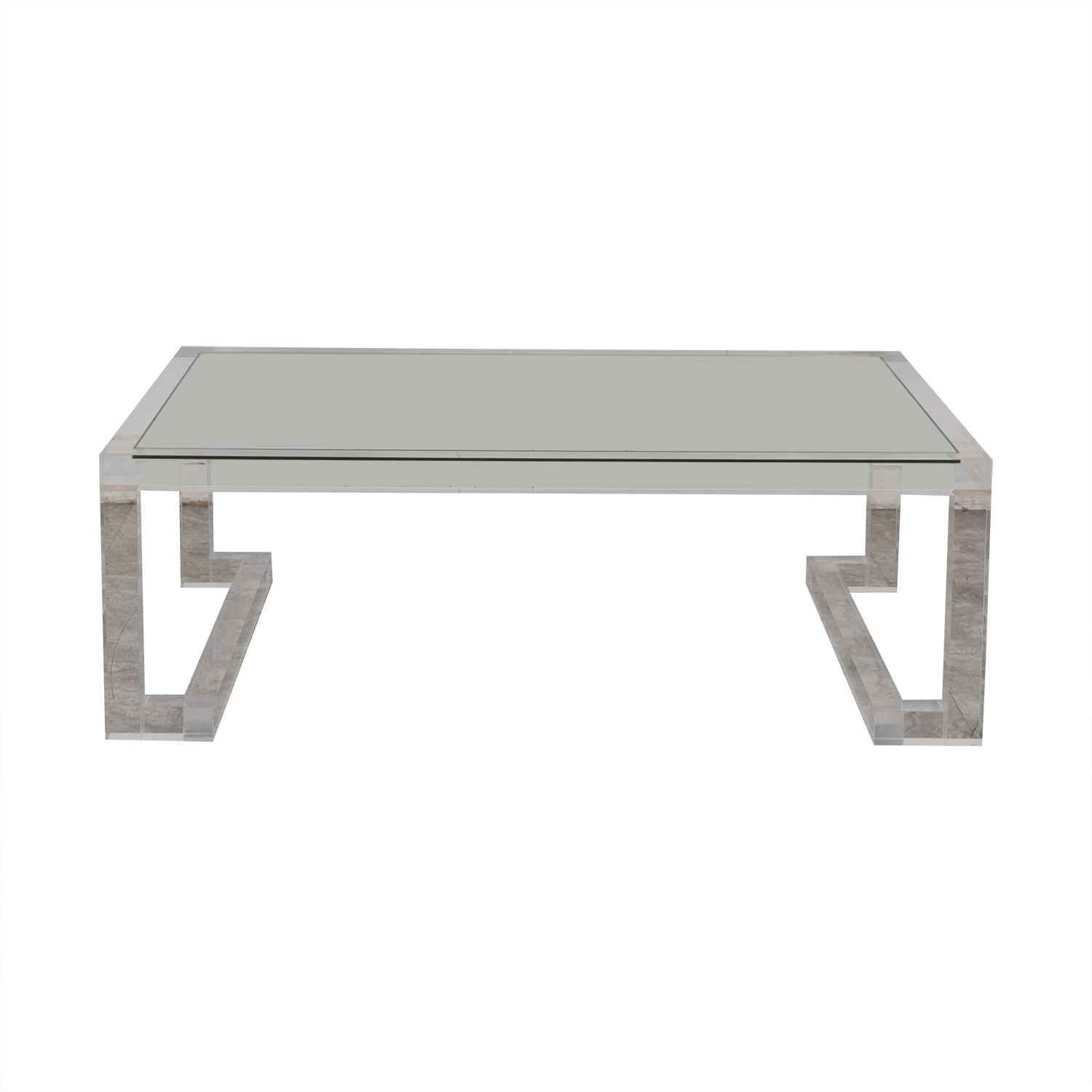shop Lillian August Ava Ghost Coffee Table Lillian August Tables