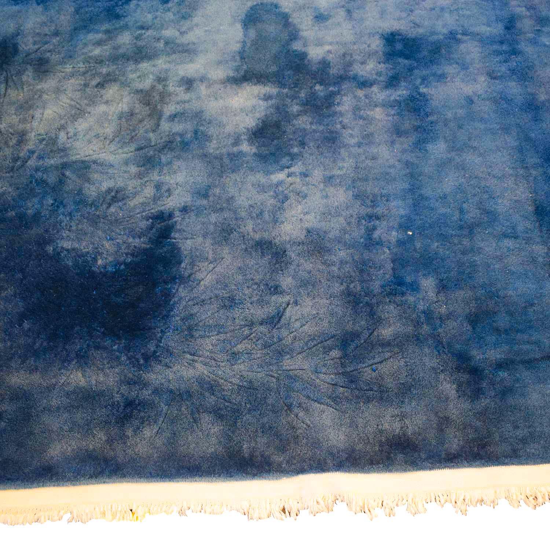 shop Chinese Blue Silk Carpet  Decor