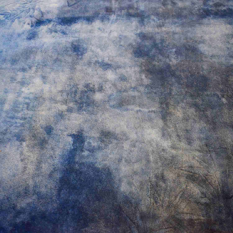 buy  Chinese Blue Silk Carpet online