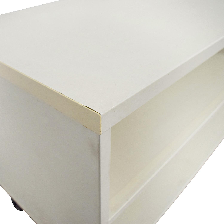IKEA IKEA White Shelving Unit Storage