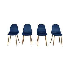 AllModern AllModern Blue Chairs coupon