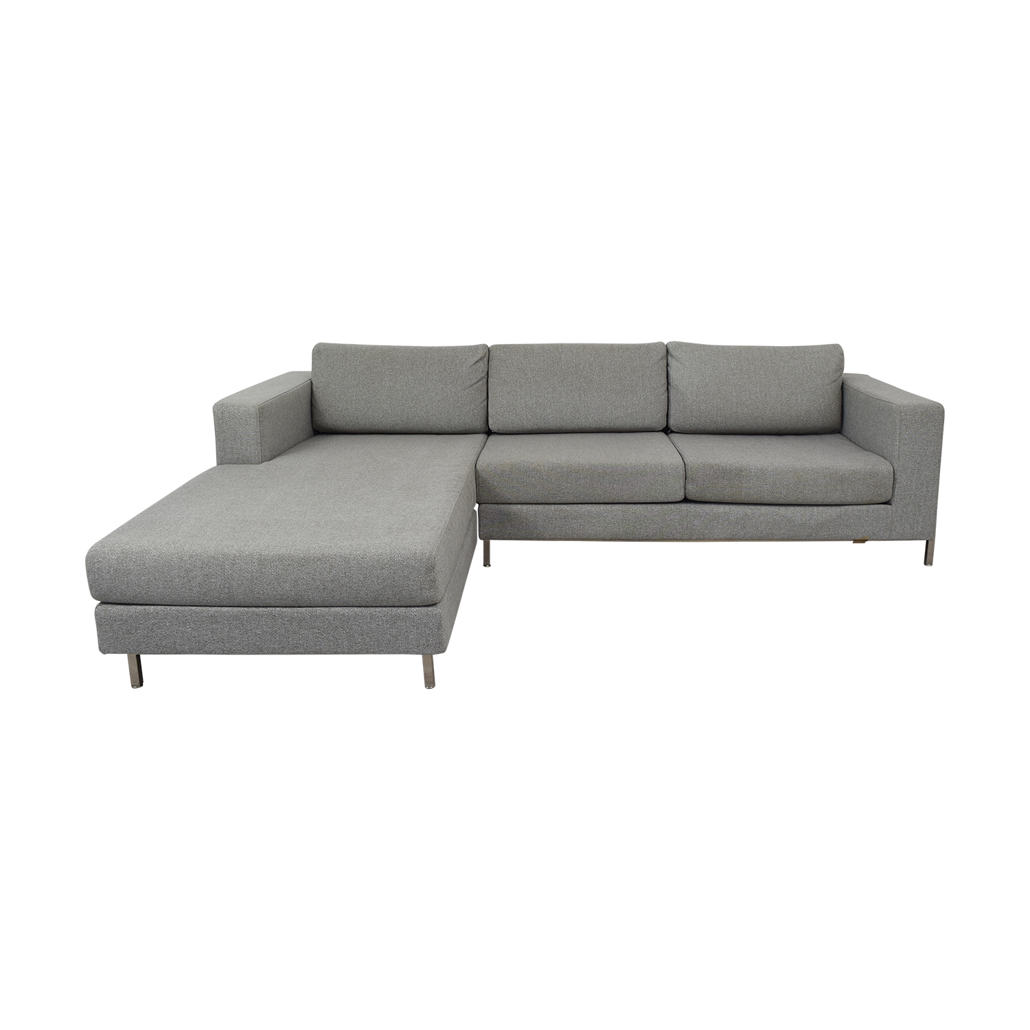 shop Gus Modern Davenport Bi-Sectional Gus Modern Sectionals