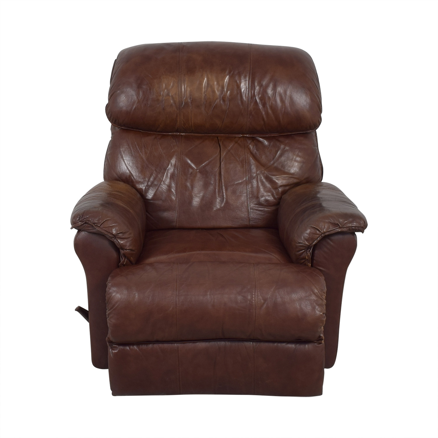 Brown Manual Recliner second hand