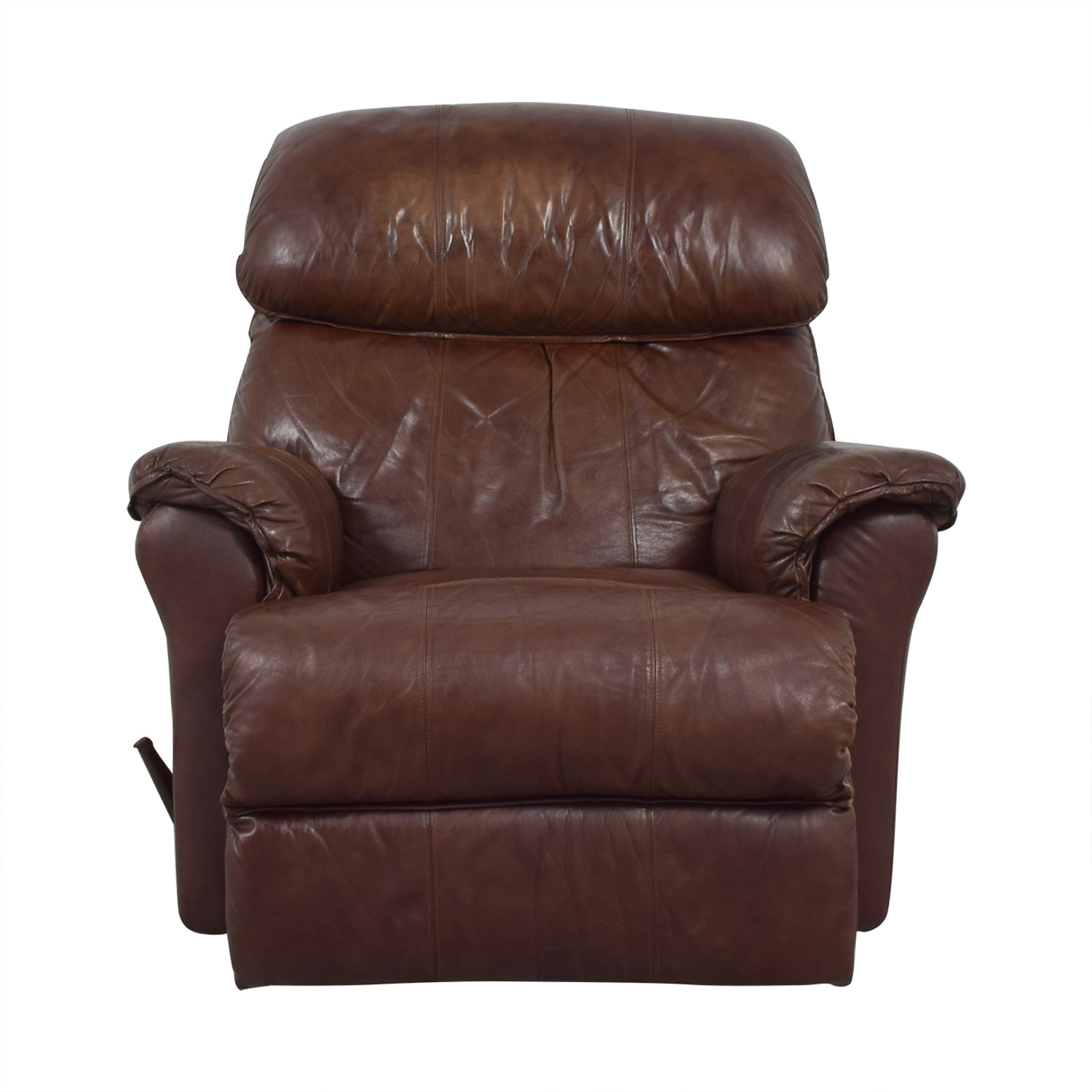 Brown Manual Recliner dimensions