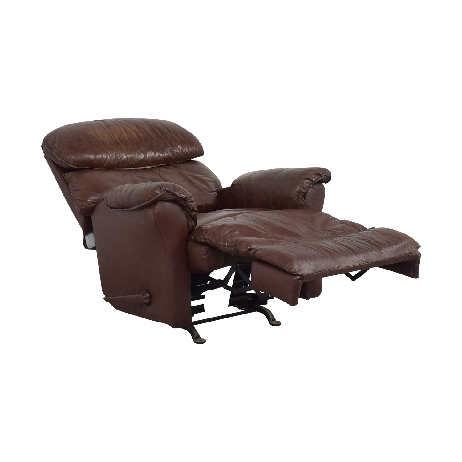 Brown Manual Recliner on sale