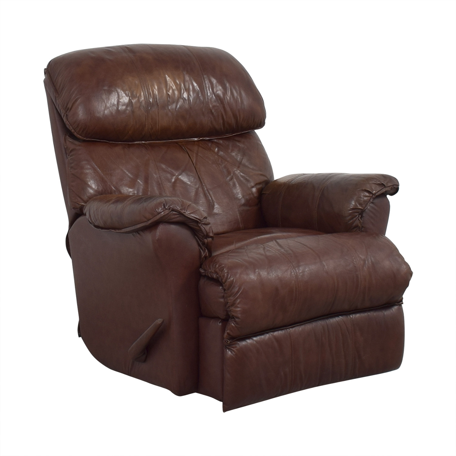 shop Brown Manual Recliner  Chairs