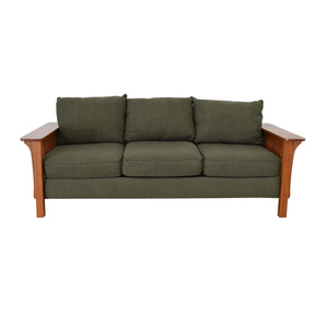 Mission Style Three Seat Couch