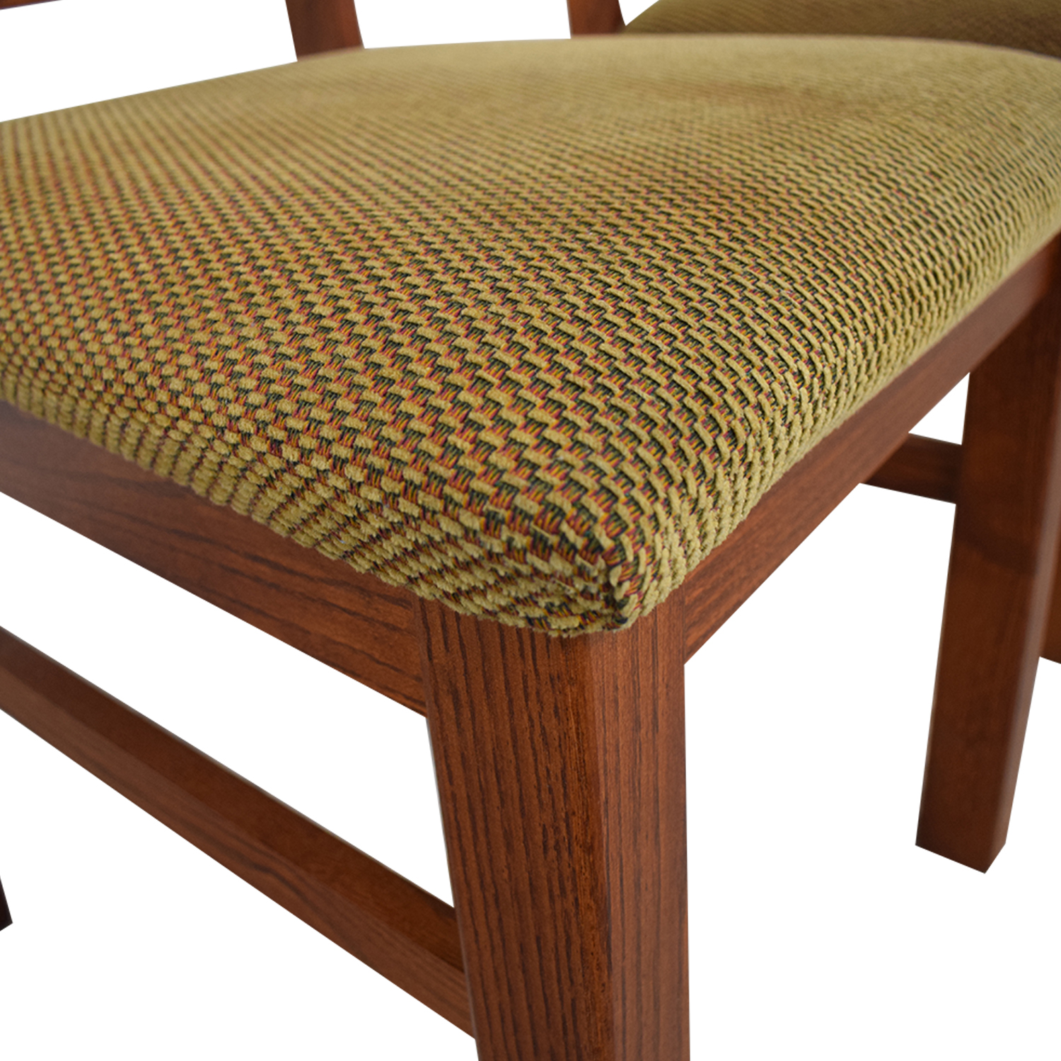 Wood Upholstered Dining Chairs on sale