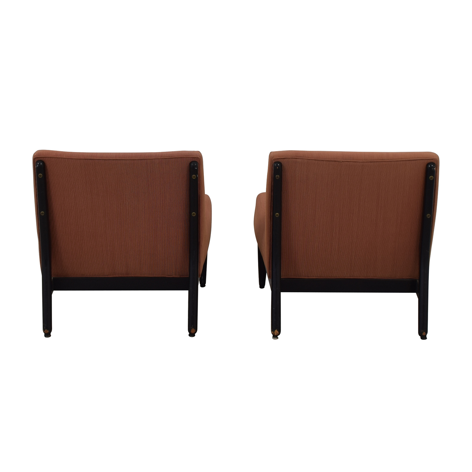 65 Off Armless Set Of Armchairs Chairs