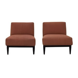 Armless Set Of Armchairs