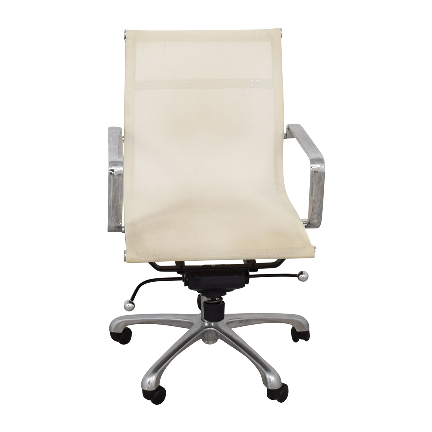 White Office Chair second hand