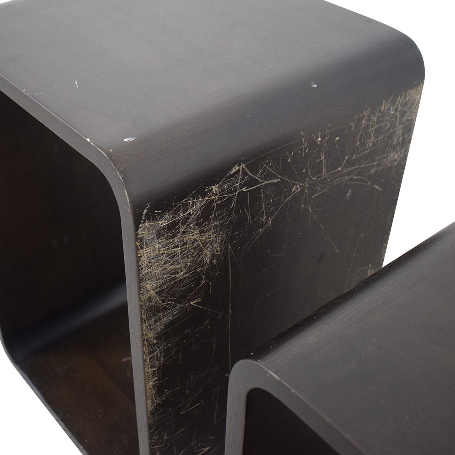 Modern Nesting Side Tables dimensions