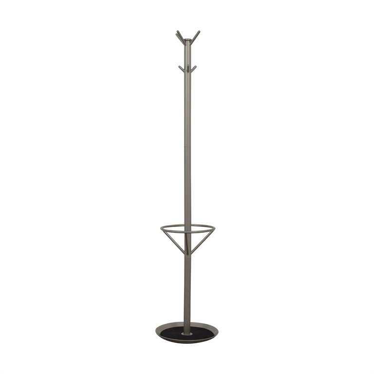 buy CB2 Chrome Coat Rack CB2