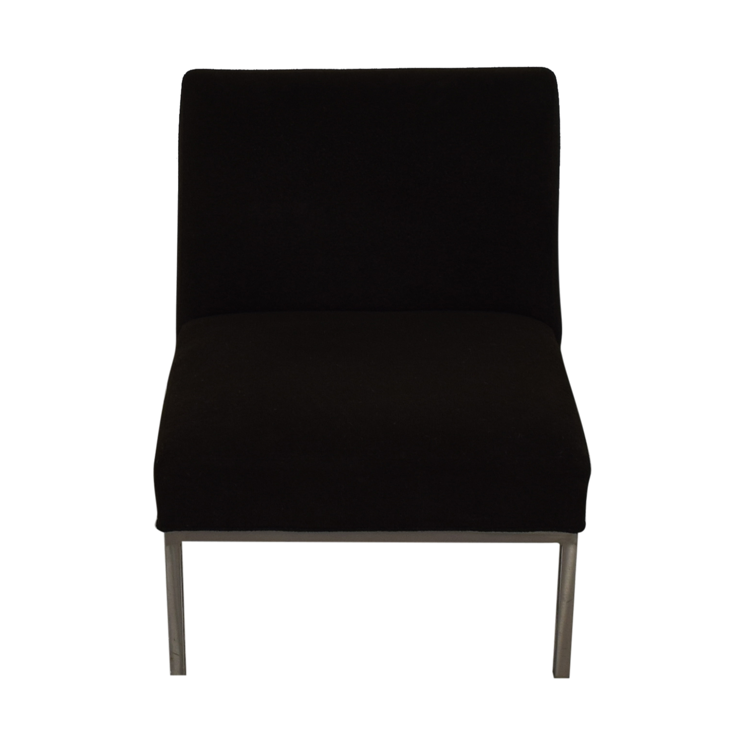 Room & Board Steel and Fabric Accent Chair sale