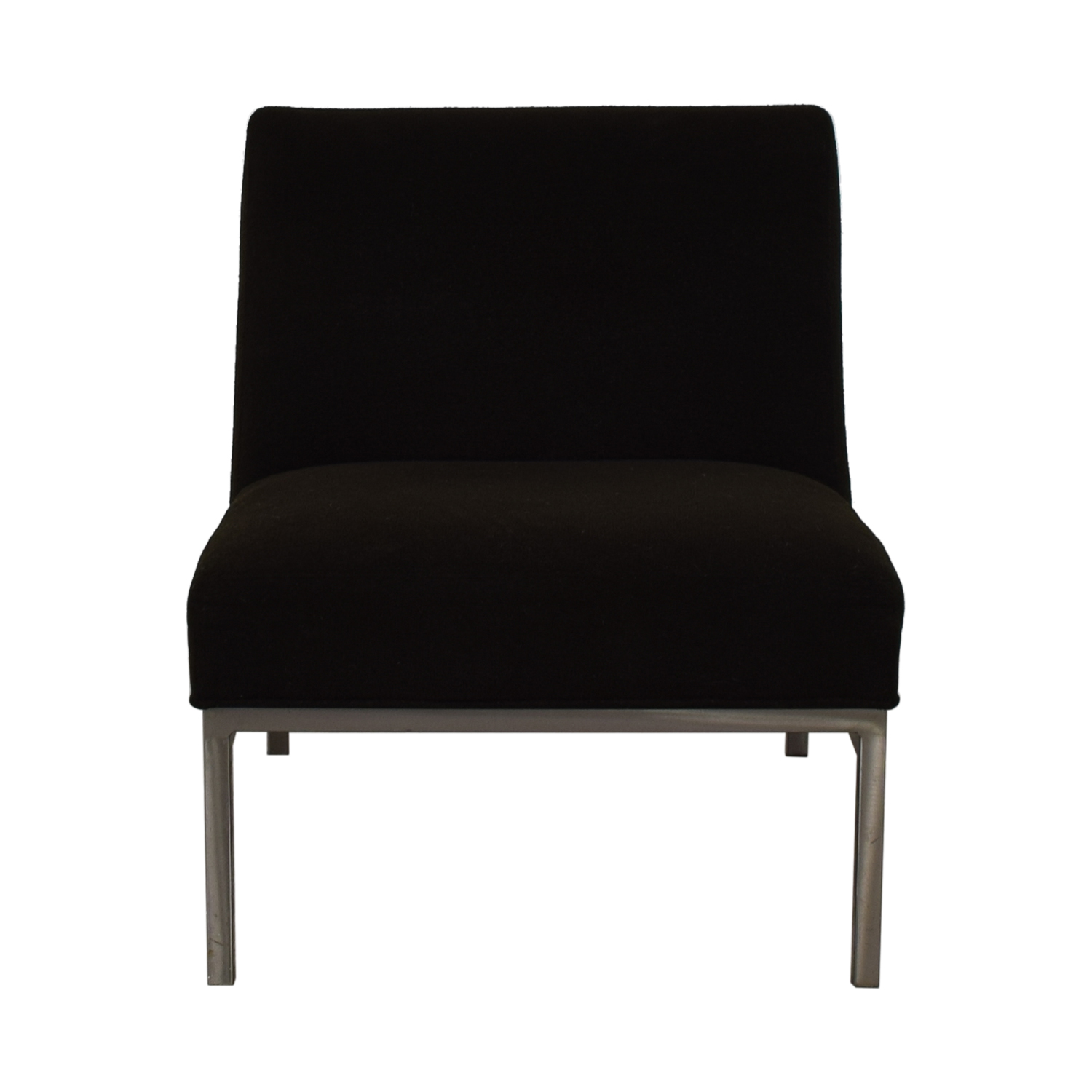shop Room & Board Room & Board Steel and Fabric Accent Chair online