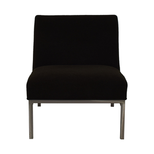 buy Room & Board Steel and Fabric Accent Chair Room & Board Chairs