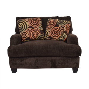 Bob's Discount Furniture Bob's Discount Furniture Large Brown Chair discount