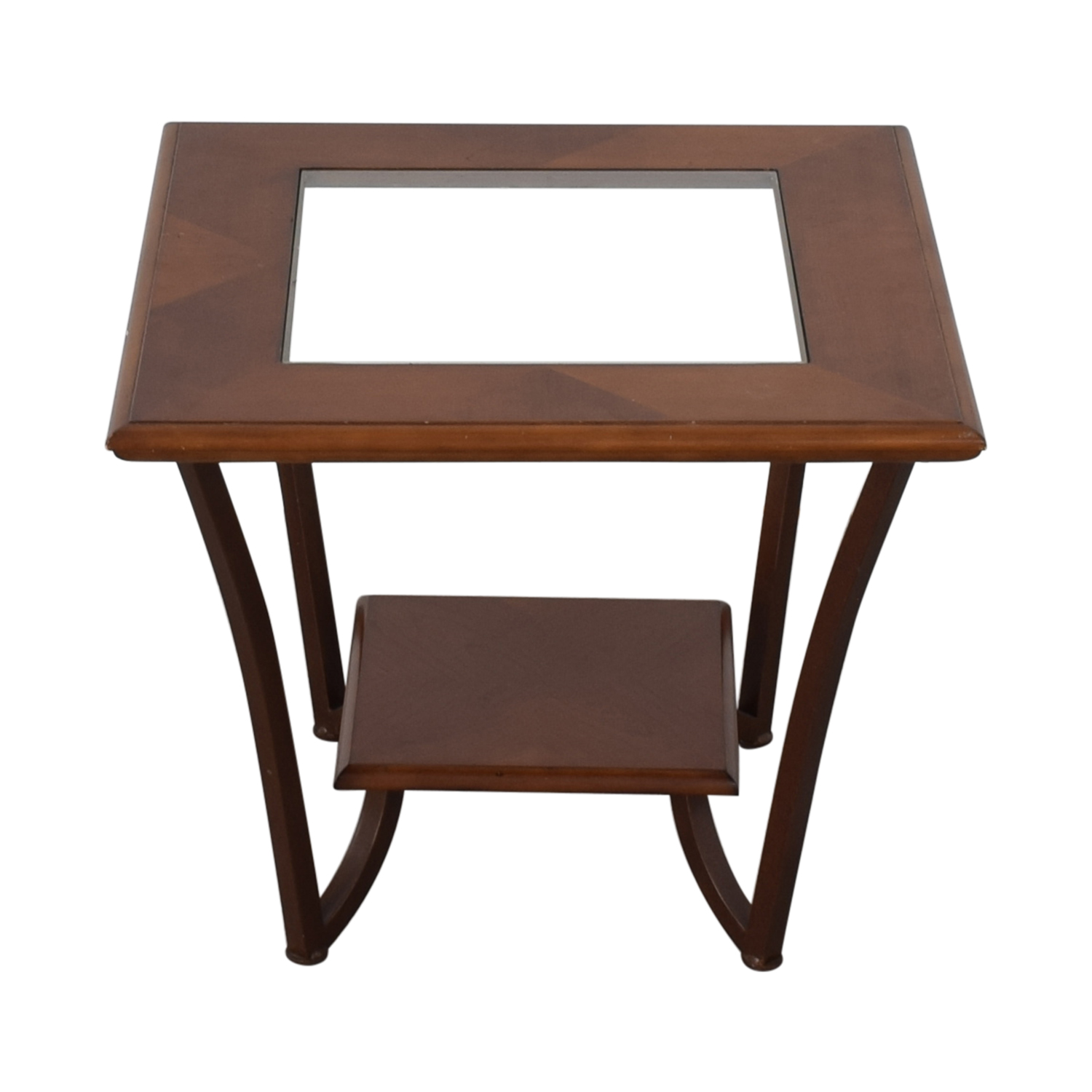 Glass Side Table / Tables