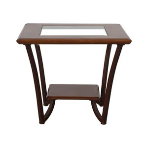 Glass Side Table dimensions