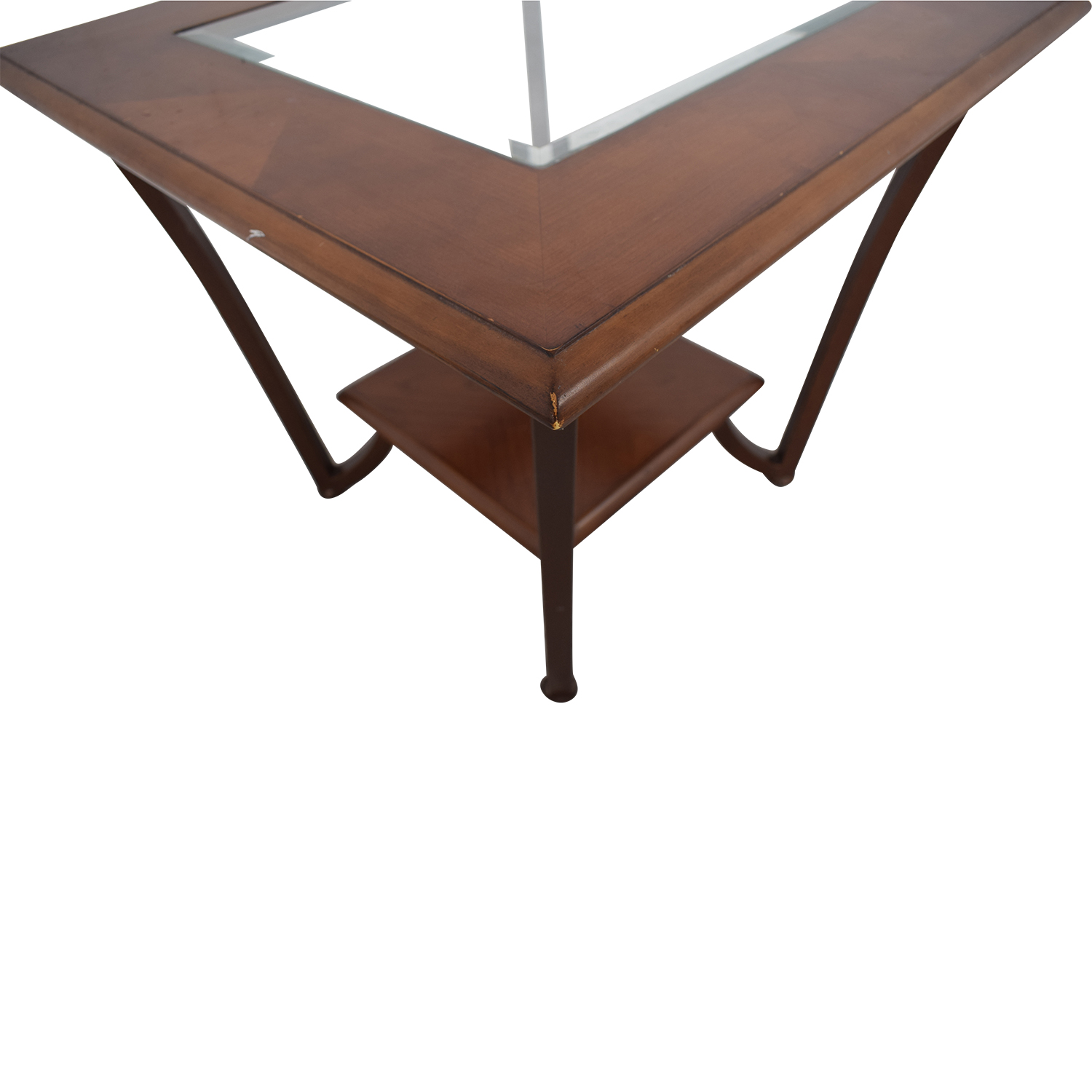Glass Side Table nyc
