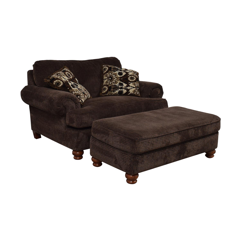 60% OFF - Jackson Furniture Jackson Furniture Brown ...