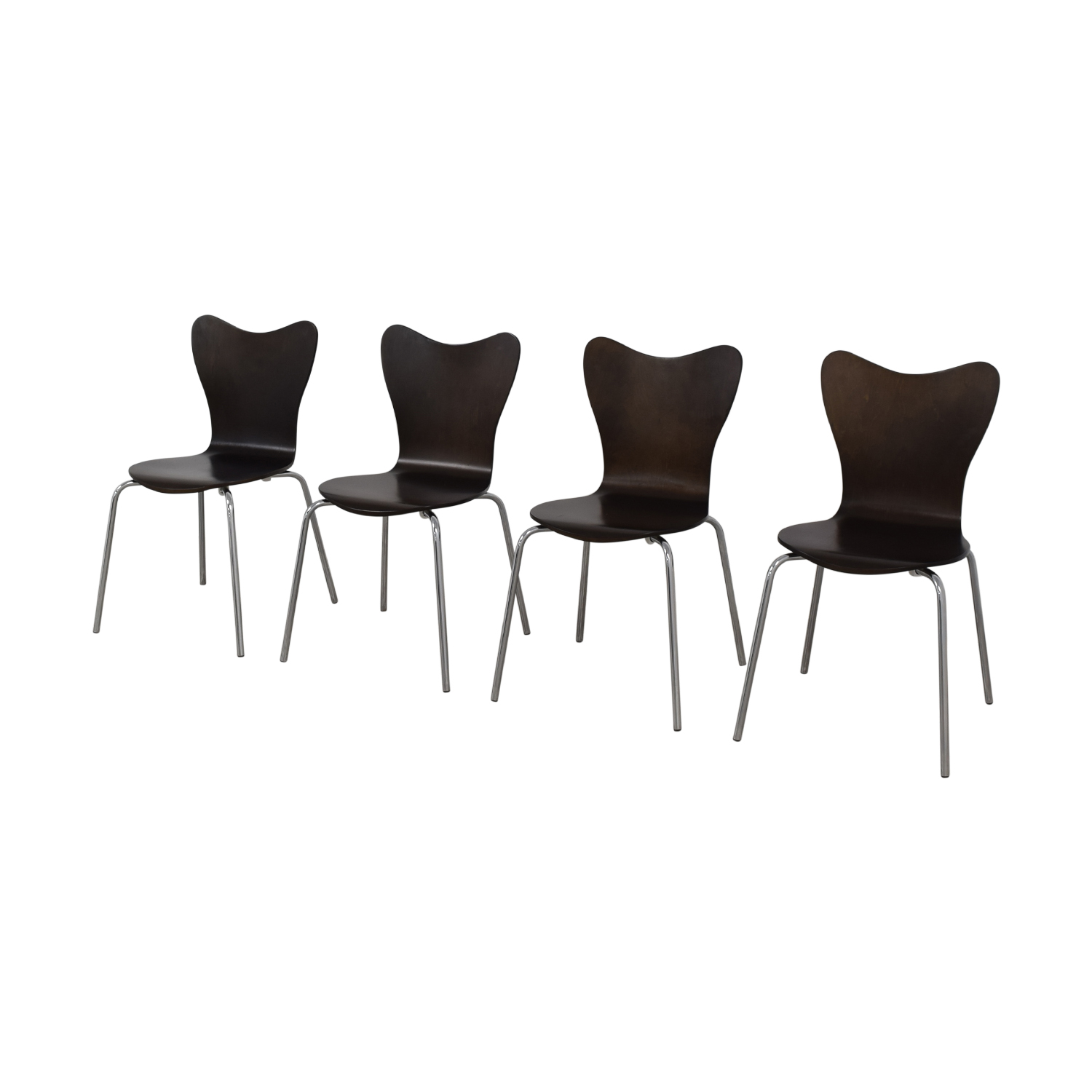 buy West Elm West Elm Scoop Back Dining Chairs online