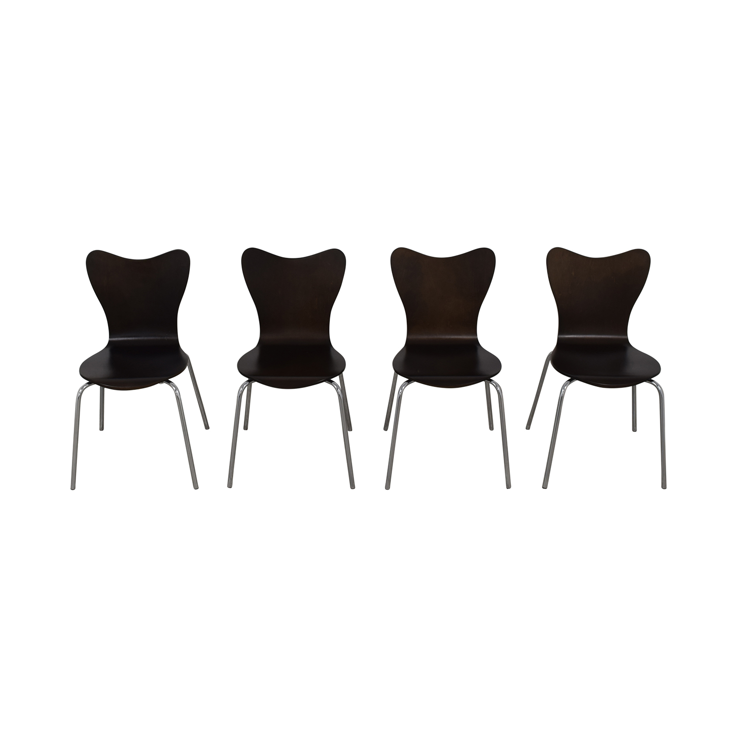 West Elm West Elm Scoop Back Dining Chairs discount