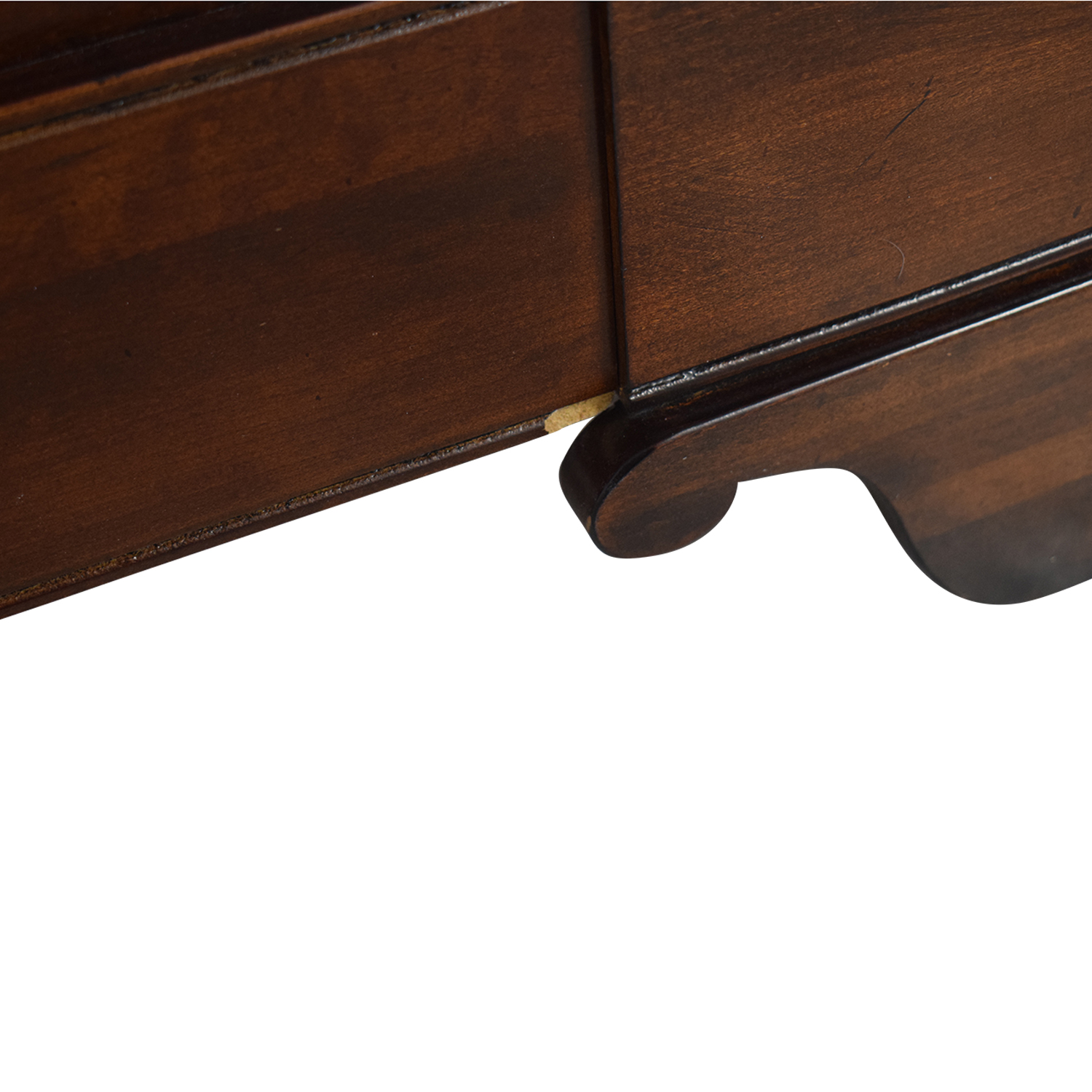Macy's Macy's Wood Queen Sleigh Bed Frame dimensions