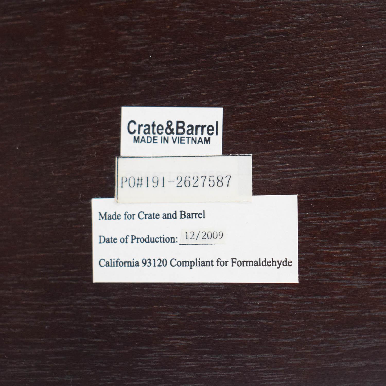 shop Crate & Barrel Crate & Barrel Wood Credenza Media Table online