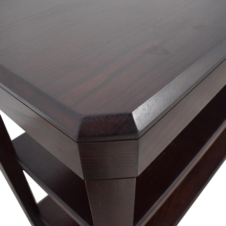 Crate & Barrel Crate & Barrel Wood Credenza Media Table coupon