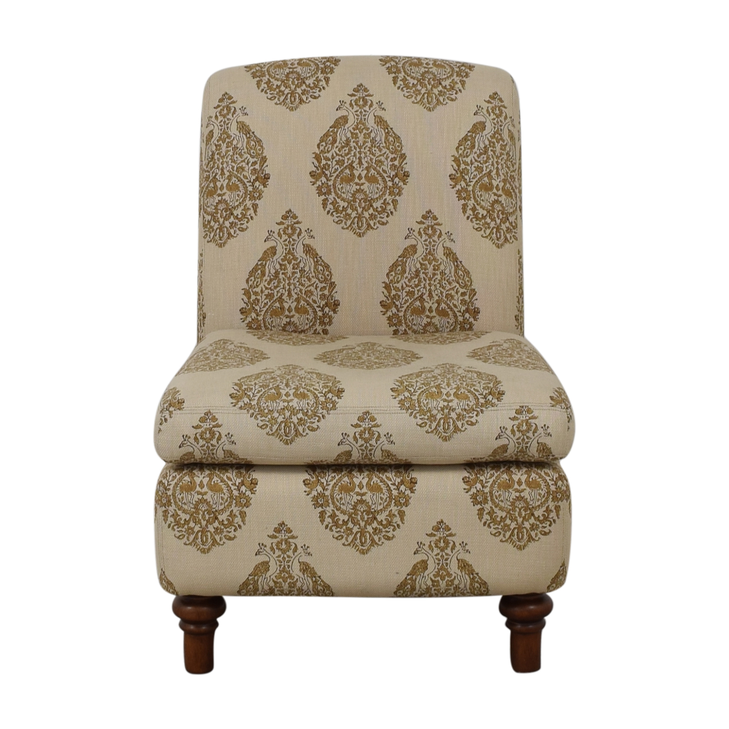 buy Pottery Barn Pottery Barn Beige Upholstered Chair online